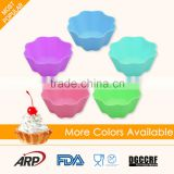 Food Grade BPA Free Silicone Baking Muffin Cups