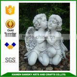 factory OEM/ODM wholesale life size resin angel garden statues