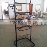 Power coated steel dressage saddle rack with high quality for wholesale