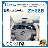 Bluetooth car kit with dual connection sunvior Handsfree Bluetooth Speakerphone with box package for Mobile phone Wholesale