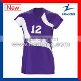 top quality promotional printing volleyball team jerseys