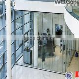 Morden design office glass wall partitions