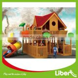 Large Children Wooden Outdoor Play Equipment for Sale Woods Series LE.MZ.015