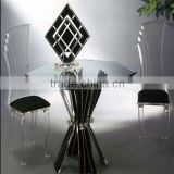 Cheap High Polished Modern Transparent Acrylic Chair For Wedding                                                                         Quality Choice