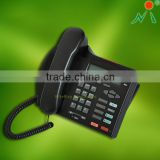 Fancy Caller ID phone support desk &wall mount landline telephone