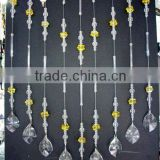 jewelry making glass stones curtain,crystal crafts curtain,curtain
