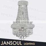 2015 innovative vintage european style modern k9 crystal glass chandelier wall light products for import