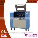 hot sale desktop K-6040 manual co2 laser cutting machine for foam board