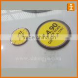 Brand Adhesive Vinyl Stickers Advertising 3M Glass Sticker Vehicle Stickers
