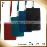 Popwide Slim Card Case Super Thin & Soft Wallet Genuine Leather Front Pocket