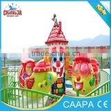 Indoor playground kiddie swing rides, amusement park 8 seats kiddie ride mini plane, mini aircraft for sale