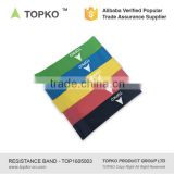 TOPKO Exercise Resistance Loop Bands-Set of 5 Physical Therapy-Fitness Theraband Stretch-Elastic Power Weight Band