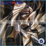 100polyester satin printing fabric with ethnic fabric barcode printing and dye sublimation fabric printing