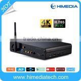 Himedia Model Q10 Pro New Products Free Sex Movies TV Box With Hard Disk bay                                                                         Quality Choice