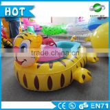 High quality!!!towable tube,rubber boat,motorized inflatable bumper boat for kids