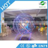 Good quality inflatable zorb ball game,LED lighting inflatable zorb ball,LED zorb ball suppliers
