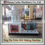 Rational Structure Ring Die Rubber Wood Pellet Process Plant