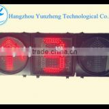 400mm led traffic light red arrow light with timer count down