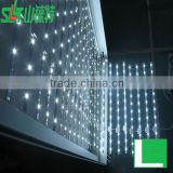 led decorative lights curtain light,flexible curtain led display,led waterfall curtain light