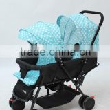 Twins Pram/Baby Stroller For Twins /Twins Carriage /Twins Pushchair From China Manufacturer