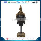 2016 resin religious buddha head sculpture                                                                         Quality Choice