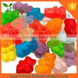 Bulk Wholesale Multivitamin Gummy Candy Round Shape In Bottle