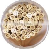 3.0mm x 400mm Multi Hole EDM Brss Electrode Tube & EDM Brass Pipe