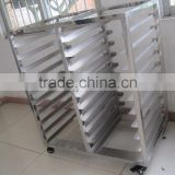 10 Trays 20 Pans Stainless Steel Trolley Bakery Bread Rack                                                                         Quality Choice