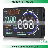 "New Universal 5.5"" Car A8 Hud Head Up Display with OBD2 Interface Plug Play KM/h MPH Speeding"