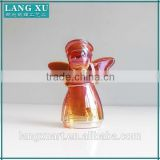 LX-D002 Custom Made glass wedding souvenirs gifts baby angel ornament craft handmade glass angel souvenir