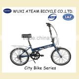 20 inch Aluminum Alloy Lightweight Folding Bicycle for commuter