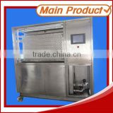 transparent irregular shape plate ice machine