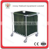 SY-R065 with wheels Trolley for dirty Article dirty article basket container for dirty clothes dirty clothes storage