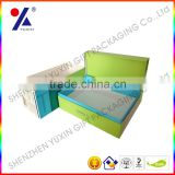 New arrived! cosmetic packaging box with paper sleeve paper carton box with customer printing