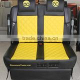 2 seater with recliner electric sofa bed for VAN,MPV modification