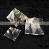 Natural Clear Quartz Stone With Healing Energy Crystal Pyramid Ornamnets
