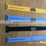 new arrival adjustable customized sim pocket band silicone bracelet                                                                                                         Supplier's Choice