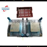Unique shape plastic injection crate mould,turnover box mould,crate box mould