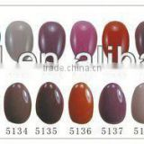 2014 new fashion design color gel nail polish Nail Painting for fluorescent nail enamel
