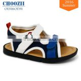 China Wholesale Custom Logo Summer Hot Sale Breathable Mesh School Kids Boys Sport Sandal 2016