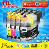 Money back guarantee for unsatisfied products/ for brother lc-127xl lc-125xl ink cartridge