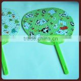2015 china new products advertising cheap promotion small plastic hand fan/paper round fan