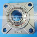 12 mm Stainless Steel Flange Bearing Unit SUCF201 Equivalent SSUCF201 4 Bolt Mounted Bearings