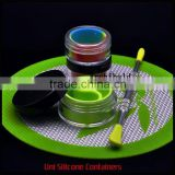 customized small plastic pickle jars for sticky wax product container storage
