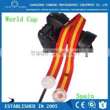 Cheapest straps LYNCA LK series manufacturer camera strap Spain national flag camera strap