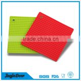 Factory manufacturing silicone dish drying mat , silicone mat with custom printing