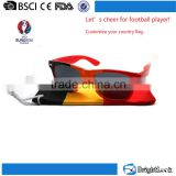 Buy wholesale free sunglasses samples,low price uv400 logo printing flag sunglasses brand your own
