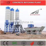 25m3/h HZS25 Lifting Hopper Stationary Ready Mix Concrete Batching Plant for sale made in China