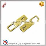 Garment Zipper Puller And Shoe Zipper Slider