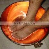 Solid Copper Bowl for Pedicure Clinics and Beauty Care